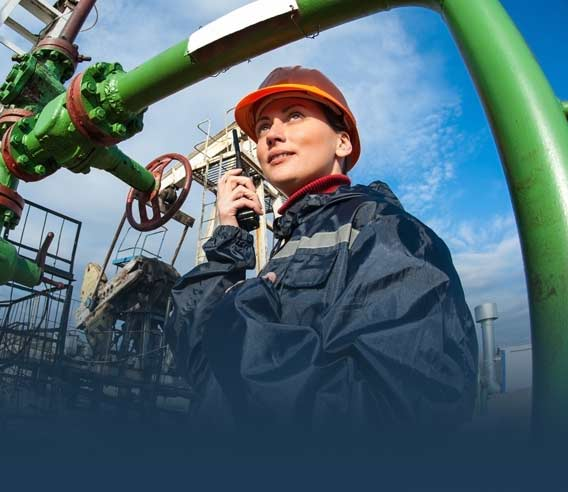 Communications for Oil and Gas operations