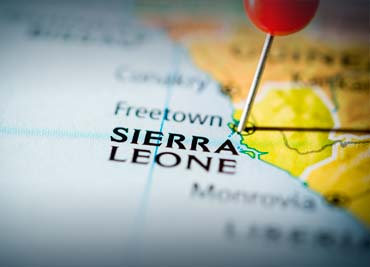 Sierra Leone Police communications